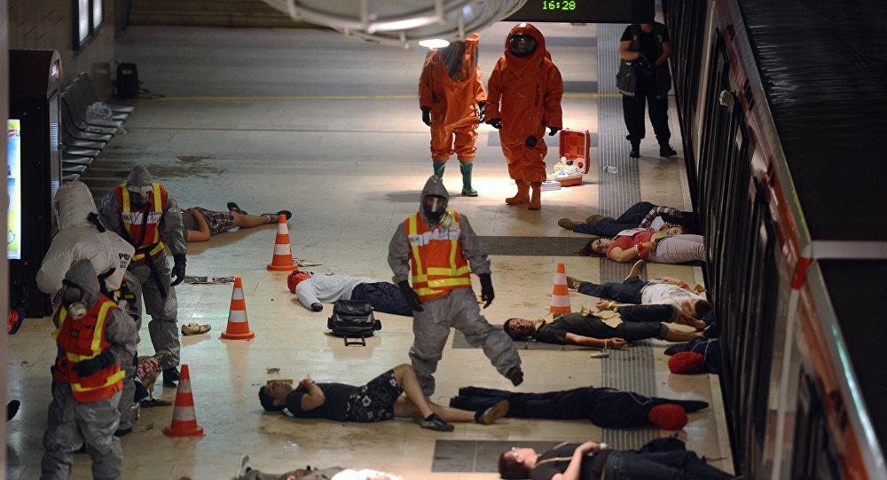 Обеспечение РХБ безопасности при проведении массовых мероприятий и в местах с большим скоплением людей