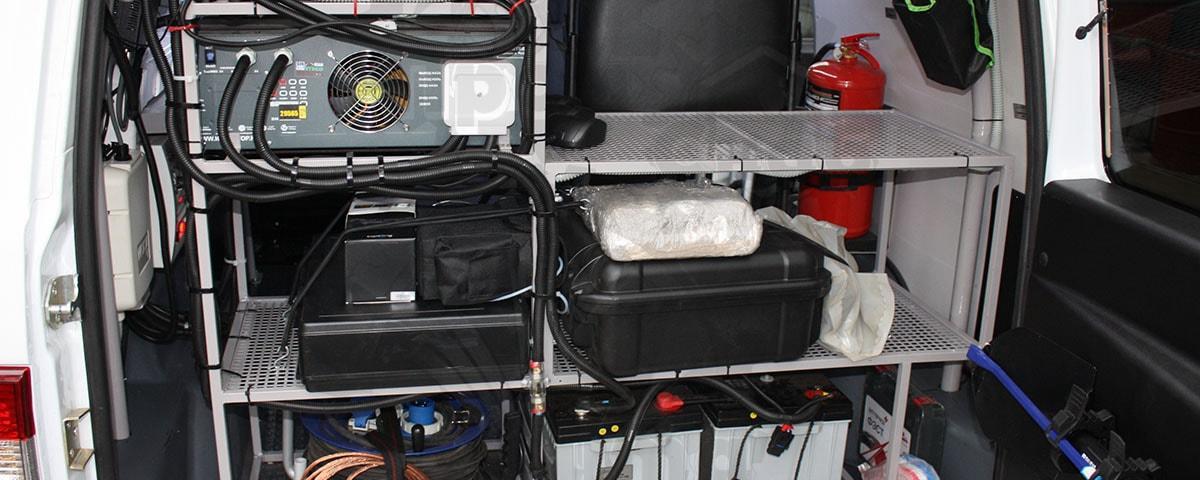 Автомобиль радиационной и химической разведки (МК-РХР)
