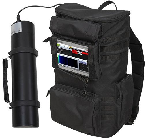 Портативный детектор радионуклидов RanidPRO200