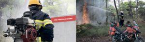 Портативная система для тушения пожара Mini Fire Stop