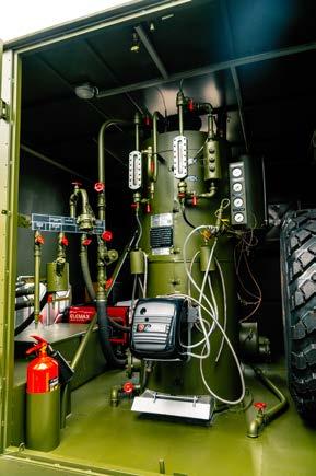 Дезинфекционно-душевая установка на автомобильном шасси
